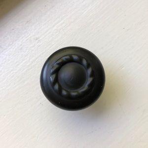 Other - Set of 12 Matte Black Cabinet Dresser Knobs